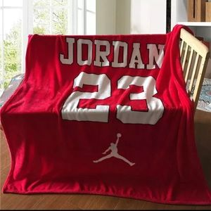 Jordan 23 Jumpman Blanket